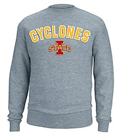 J. America® NCAA® Iowa State Cyclones Men's Sculler Crew Neck Sweater