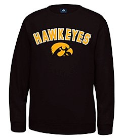 J. America® NCAA® Iowa Hawkeyes Men's Sculler Crew Neck Sweater