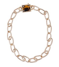 Lauren Ralph Lauren® Goldtone Riding High Chain Necklace