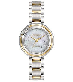Citizen® Women's Two Tone Eco-Drive Carina Watch