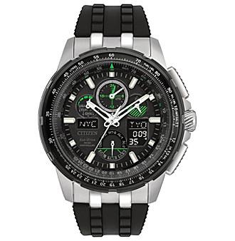 Citizen® Men's Black Eco-Drive Skyhawk A-T Watch