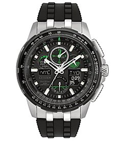 Citizen® Men's Black Eco-Drive Skyhawk A-T Watch