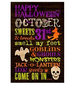 LivingQuarters Halloween Verbiage Box