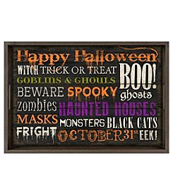 LivingQuarters Halloween Verbiage Tray