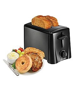Proctor-Silex® Black Automatic Shut Off 2-Slice Toaster