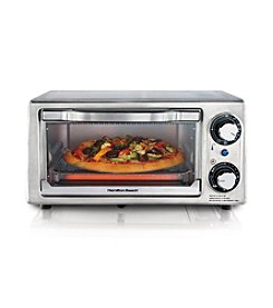 Hamilton Beach® Stainless Steel 4-Slice Toaster Oven