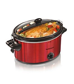 Hamilton Beach® Stay or Go 5-qt. Red Slow Cooker