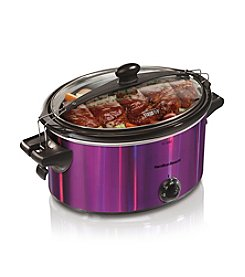 Hamilton Beach® Stay or Go 5-qt. Purple Slow Cooker