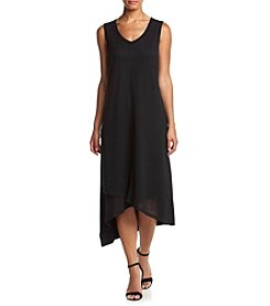 Cable & Gauge® Solid Asymmetrical Dress
