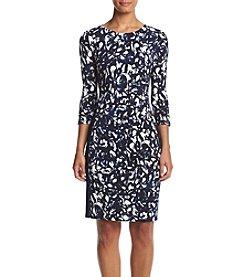 Jessica Howard® Printed Matte Jersey Dress