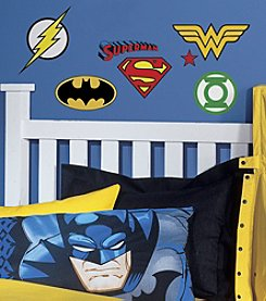 RoomMates DC Comics® Superhero Logos Peel & Stick Wall Decals