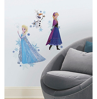 RoomMates Disney® Frozen Anna, Elsa, and Olaf Peel & Sti