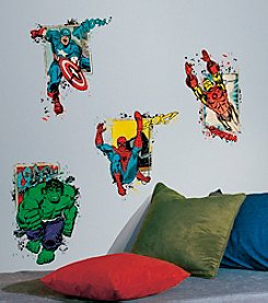 RoomMates Marvel® Superhero Burst Peel & Stick Giant Wall Decals