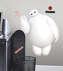 RoomMates Big Hero 6 White Baymax Peel & Stick Giant Wall Decals