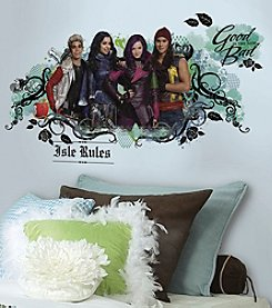 RoomMates Descendants Isle of the Lost Peel & Stick Wall Graphic