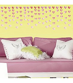 RoomMates Watercolor Heart Peel & Stick Wall Decals