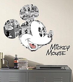 RoomMates Mickey Mouse Comic Peel & Stick Wall Graphic