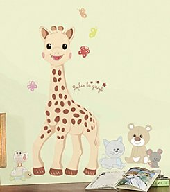 RoomMates Sophie La Giraffe Peel & Stick Giant Wall Decals