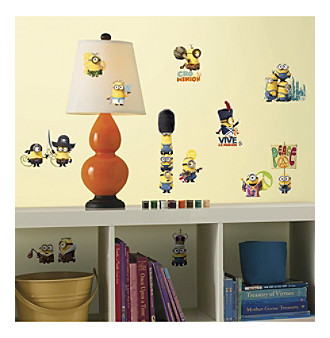 RoomMates Minions The Movie Peel & Stick Wall Decals