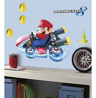 RoomMates Mario Kart 8 Peel & Stick Giant Wall Decals