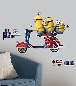 RoomMates Minions The Movie Peel & Stick Giant Wall Decals