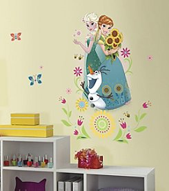 RoomMates Disney® Frozen Fever Group Peel & Stick Giant Wall Graphic