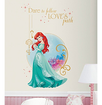 7a458c2583 RoomMates Disney Princess® Ariel Peel & Stick Giant Wall