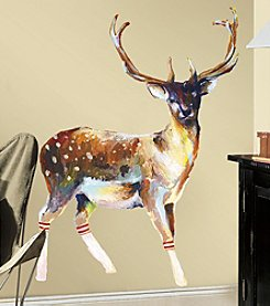 RoomMates Deer with Socks Peel & Stick Wall Decals