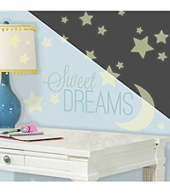 RoomMates Sweet Dreams Glow in the Dark Peel & Stick Wall Decals