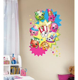 RoomMates Shopkins™ Burst Peel & Stick Giant Wall Deca