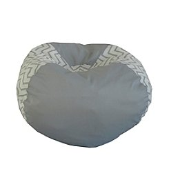 Ace Bayou Medium Grey Chevron Bean Bag