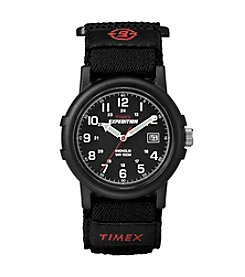 Timex® Men's Expedition Camper Black Fast Wrap Strap Watch