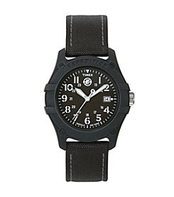 Timex® Men's Expedition Camper Black Nylon Strap Watch
