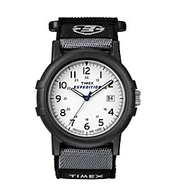 Timex® Men's Expedition Camper Black Fast Wrap Velcro Strap Watch