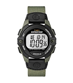 Timex® Men's Expedition Full-Size Digital CAT Green Watch