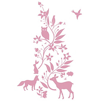 RoomMates Forest Friends Peel & Stick Giant Wall Decals
