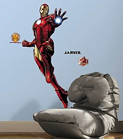 RoomMates Iron Man Peel & Stick Giant Wall Decals with Glow