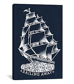 Sailing Away by 5by5collective Canvas Print