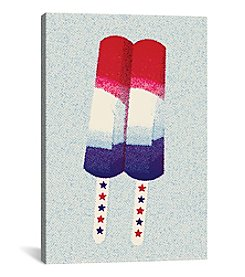 Patriot Pop by Greg Mably Canvas Print