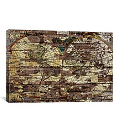iCanvas Secret Map by Diego Tirigall Canvas Print