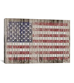 American Flag I by Diego Tirigall Canvas Print