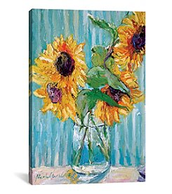 iCanvas Sunflowers II by Richard Wallich Canvas Print