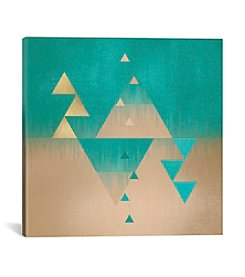 iCanvas Pyramids by Elisabeth Fredriksson Canvas Print