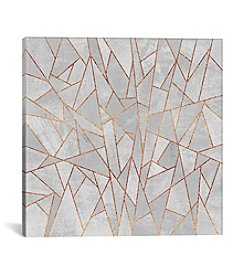 iCanvas Shattered Concrete by Elisabeth Fredriksson Canvas Print