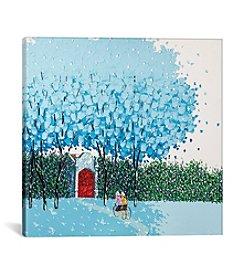 iCanvas Beloved Blue by Phan Thu Trang Canvas Print