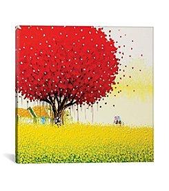 iCanvas Golden Season by Phan Thu Trang Canvas Print