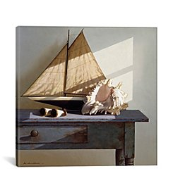 iCanvas Shell & Sail by Zhen-Huan Lu Canvas Print