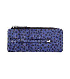 Relativity® Blue Dot Slim Organizer Wallet