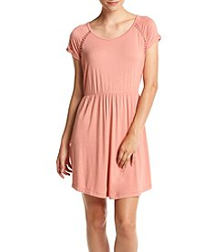 Pink Rose® Knit Skater Dress