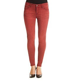 Celebrity Pink Mid Rise Washed Out Skinny Ankle Jeans